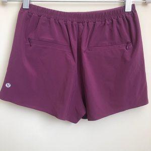 lululemon pleated high rise shorts!!